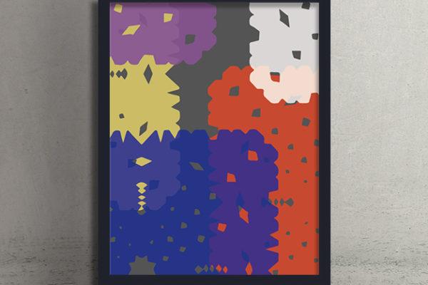 模様patternポスターposterインテリア