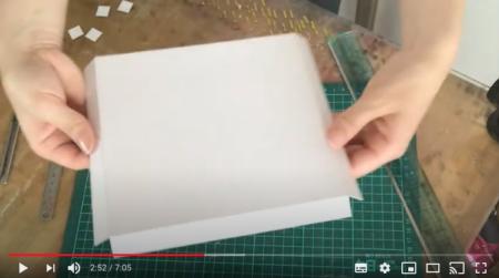 厚紙で作るアートパネル