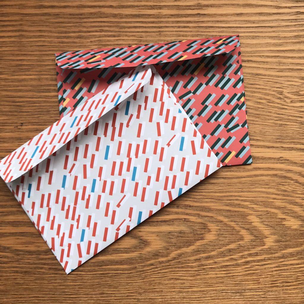 A4デザインペーパーで作る封筒