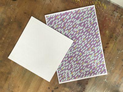 家でプリントするa4デザインペーパーパターンペーパー